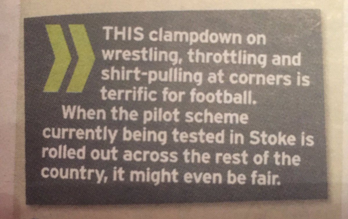 From Mike Walters in this morning's Mirror. https://t.co/v2sAouyqOJ