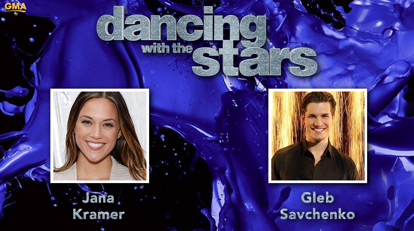 RT @GMA: #DWTS Pair: @kramergirl and @Gleb_Savchenko!!  #DancingOnGMA @DancingABC https://t.co/caluaQzmfV