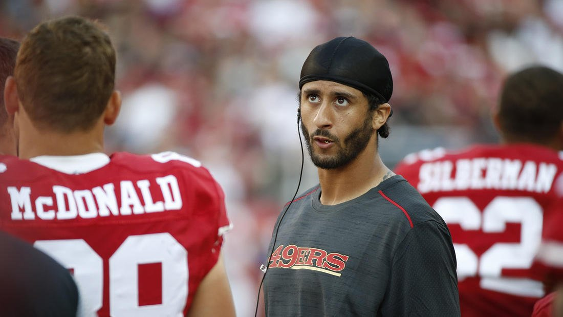 A well-meaning Colin Kaepernick starts a conversation that, sadly, seems headed nowhere