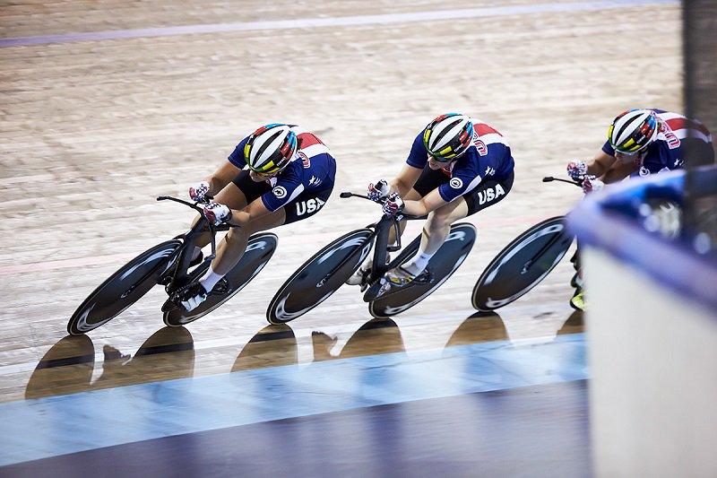 IBMVoice: The Internet Of Things Technology In The Velodrome: Team USA Cycling