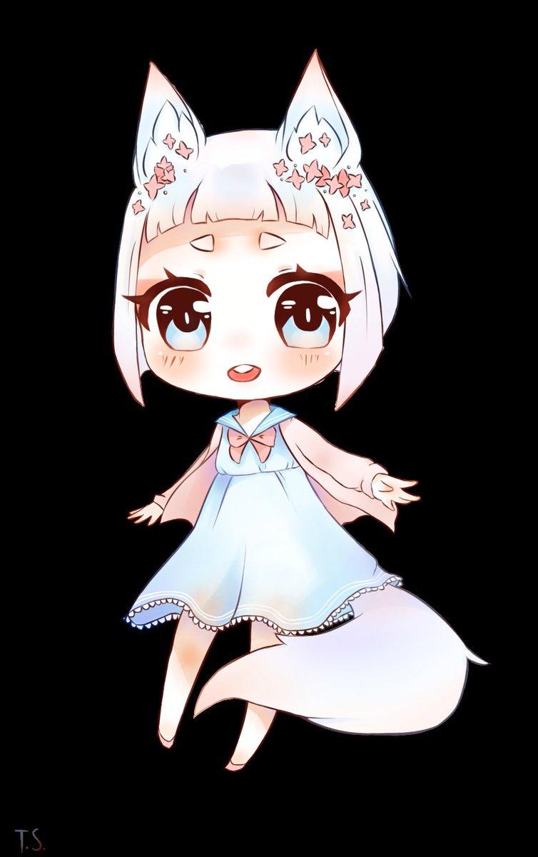 Keokz On Twitter Young Kitsune Chibi Anime Manga Kawaii