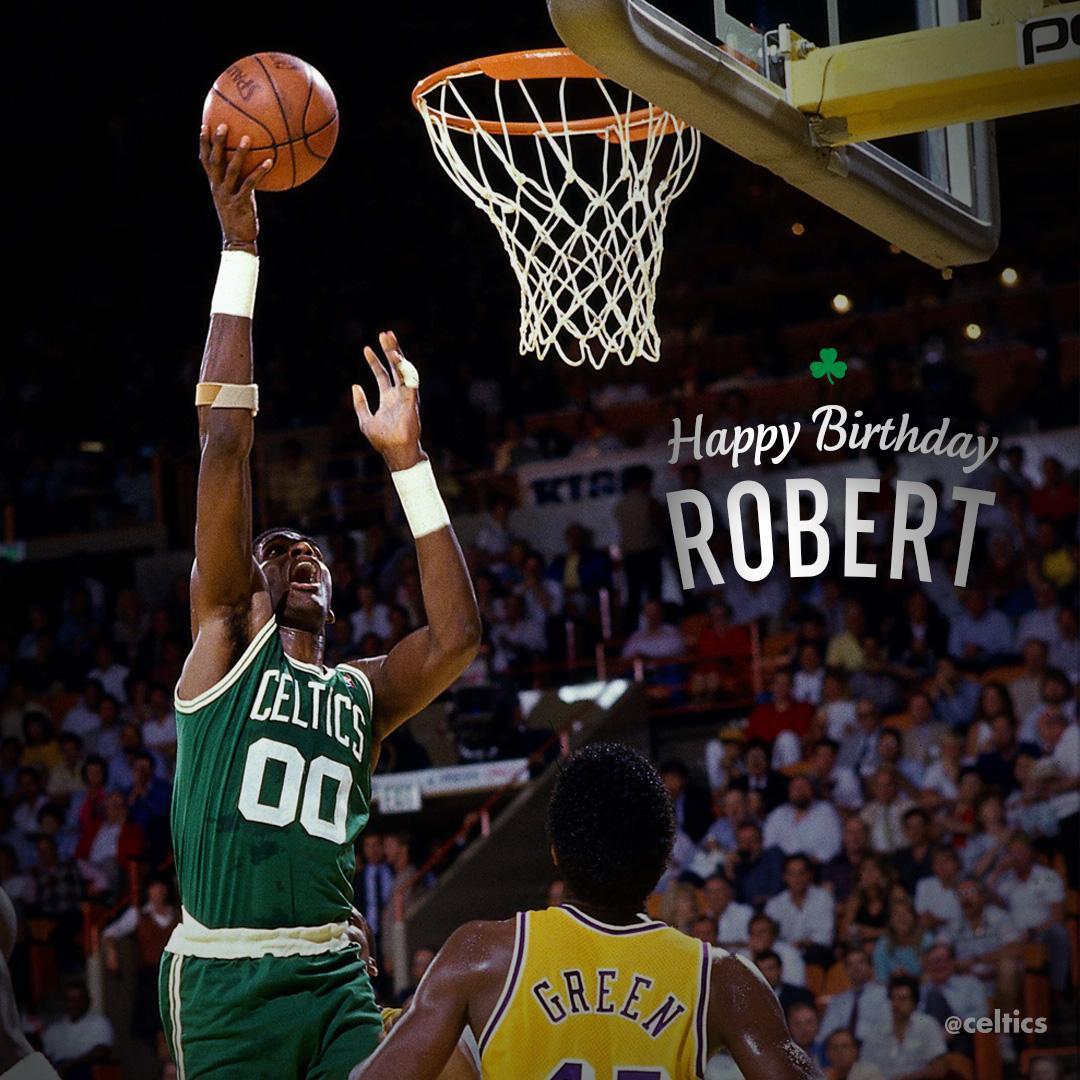 Happy Birthday #Celtics Legend Robert Parish 🎉☘ #chief