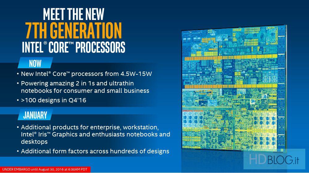 #Intel presenta i Core di 7° generazione. CPU Kaby Lake ufficiali https://t.co/DCjXR9jioa #cpu https://t.co/I2oWkj0iPm
