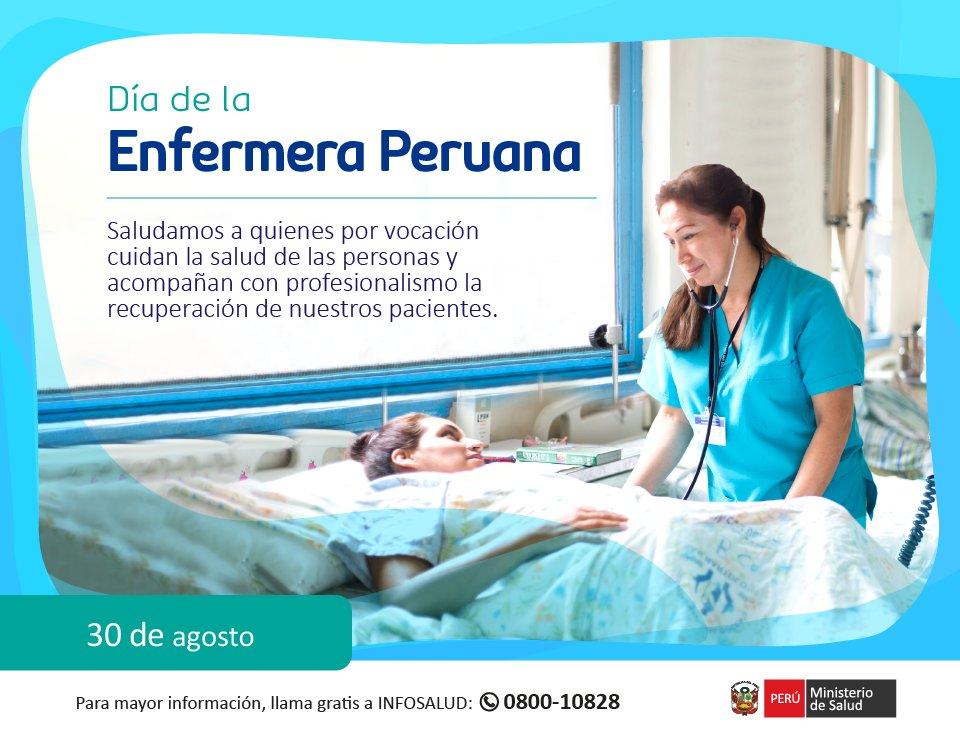 Ministerio De Salud على تويتر Saludo Por El Dia De La Enfermera