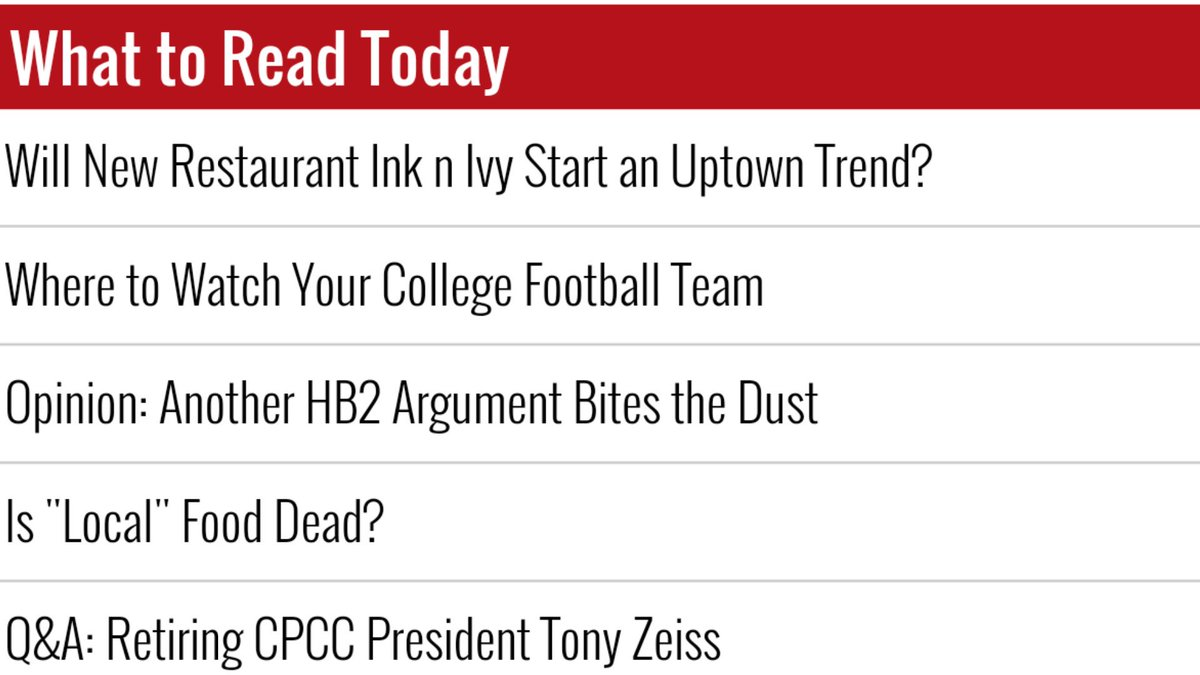 What to Read Today