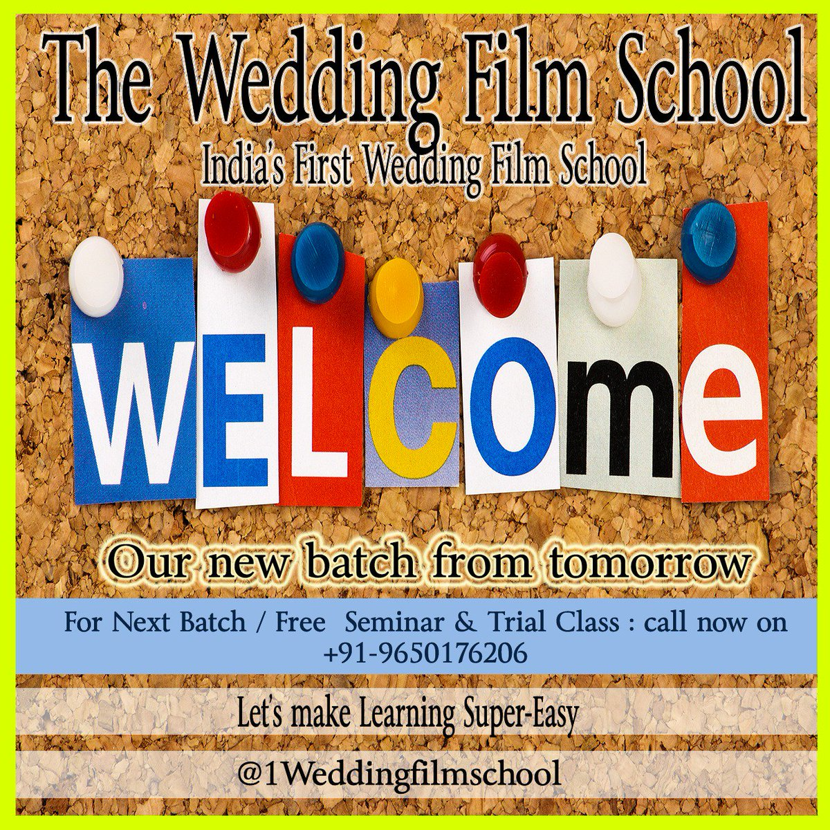 Wedding Film School.The Wedding Film Sch 1wedfilmschool Twitter