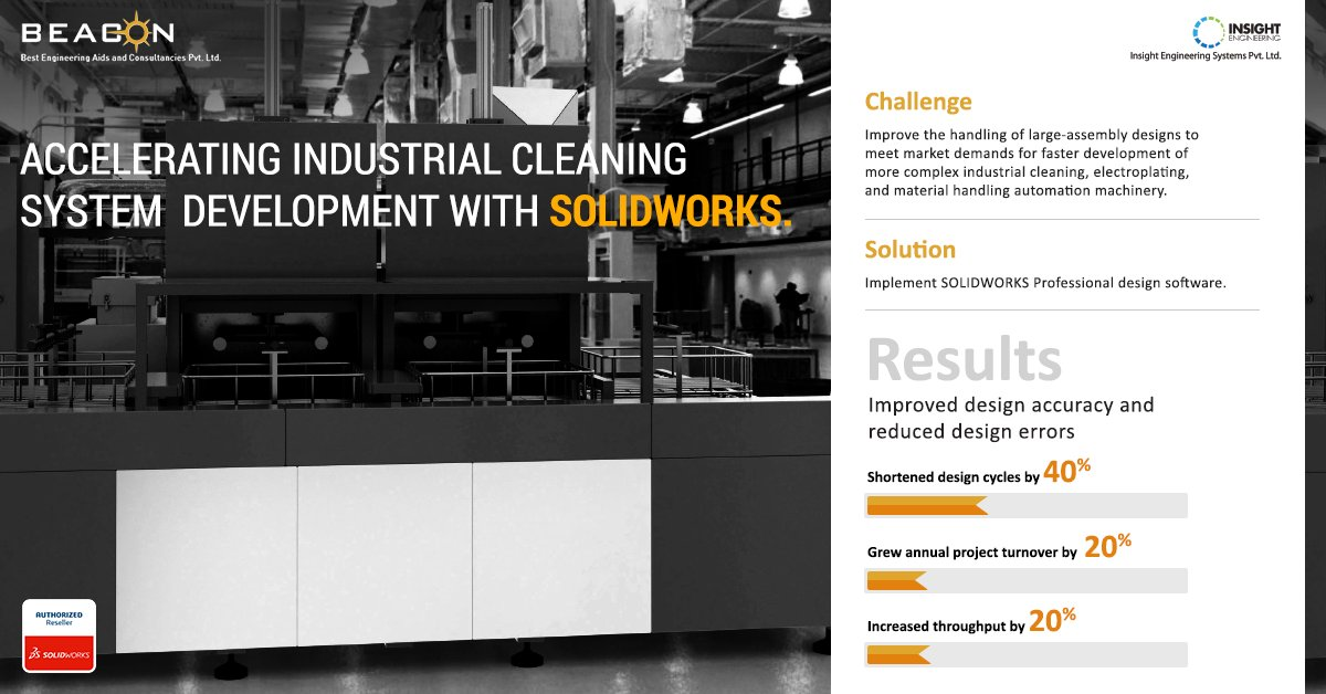 Beacon Solidworks Reseller On Twitter Insight Engineering Systems Pvt Ltd Implemented Solidworks Professional Design Software Here Are The Results