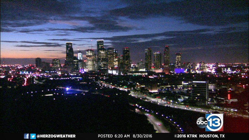 Get ready for an inspiring sunrise, Houston!And please tweet me your photos.