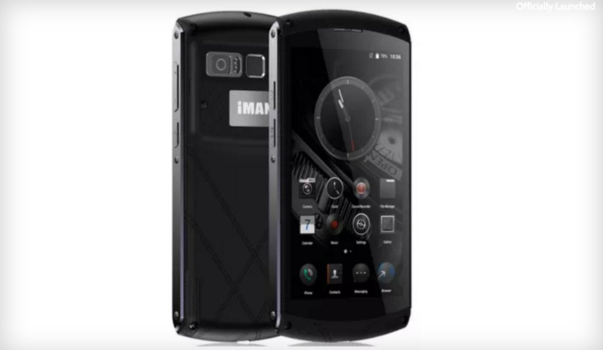 Phoneradar On Twitter Iman Victor Luxury Smartphone With Ip67