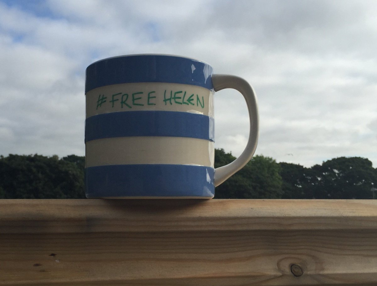 Too many conversations with friends about their controlling partners and exes. Solidari-tea. #FreeHelen #thearchers https://t.co/wQ6SXKOOTB