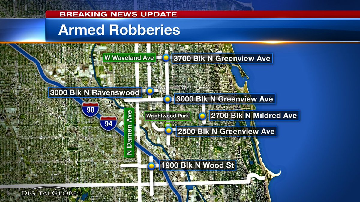 6 robbed at knifepoint, including an 8th grader, in less than 90 minutes on North Side
