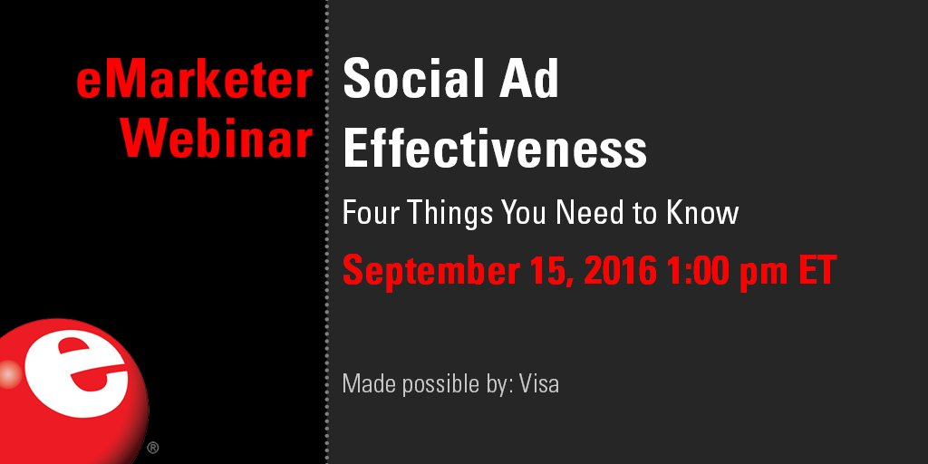 Why are brands jumping to new #social networks like @Snapchat? Find out in our #eMwebinar: https://t.co/1ceEp6jk2B https://t.co/pCdW5gnhjf