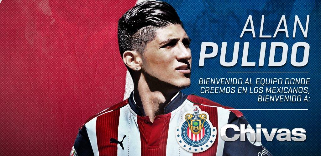 OFICIAL: @puliidooo ya es jugador de las @Chivas. ¡Bienvenido! https://t.co/pXZM7TbdxH https://t.co/d1JD9efB9X