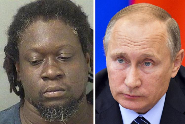 NO, NOT THAT ONE: Florida man named Vladimir Putin arrested on trespassing charges