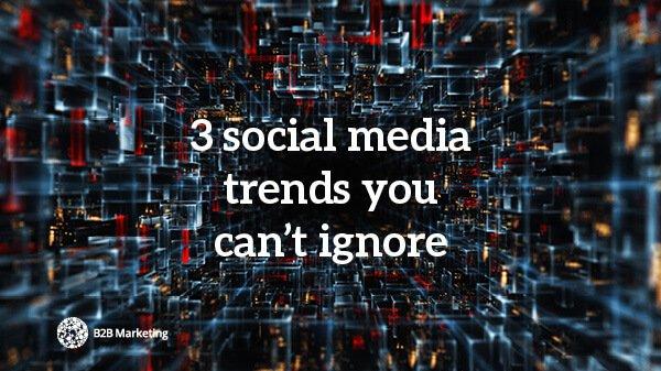 3 social media trends to ignore at your peril https://t.co/QdYFqXQYbr https://t.co/uZrbMhm5fP