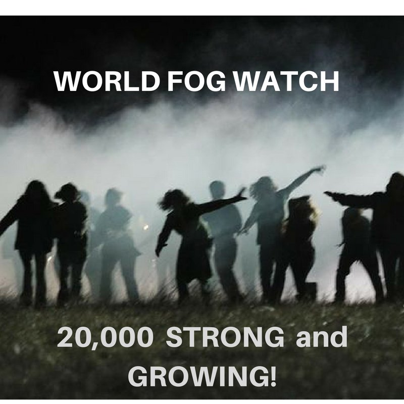 https://t.co/KOmsyWNFfp RT @WorldFogWatch THANK YOU  everyone!  20K!!!  The Road to 100K!  https://t.co/hzpxEkbK6I