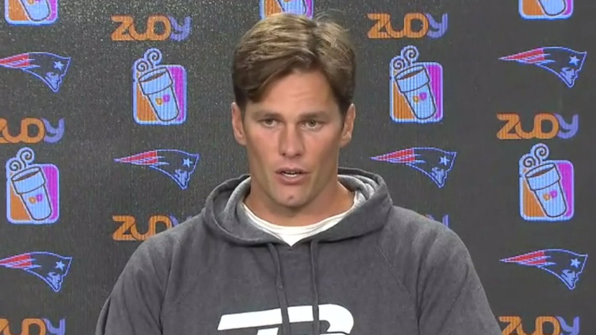 You will have feelings about Tom Brady's new haircut
