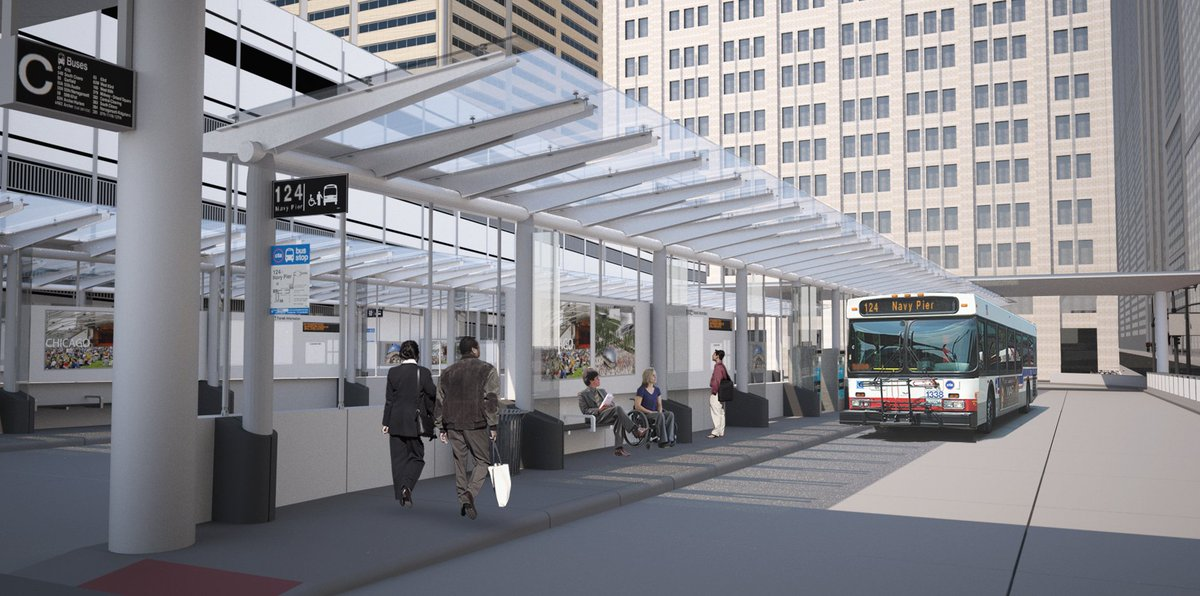 New CTA bus center coming to Union Station