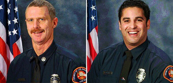 Today marks the 7th anniversary of the loss of Fire Captain Ted Hall and FFS Arnie Quinones during the #StationFire https://t.co/1Hwfvs02lz