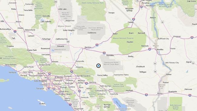 Earthquake: 3.4 quake strikes near Big Bear City, Calif.