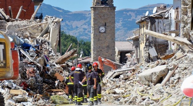 Italian scientists shocked by earthquake devastation : Nature News & Comment