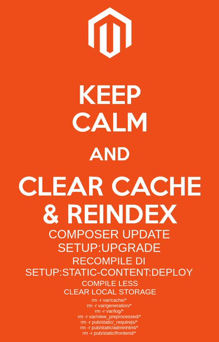 Keep Calm for Magento 2 Poster
