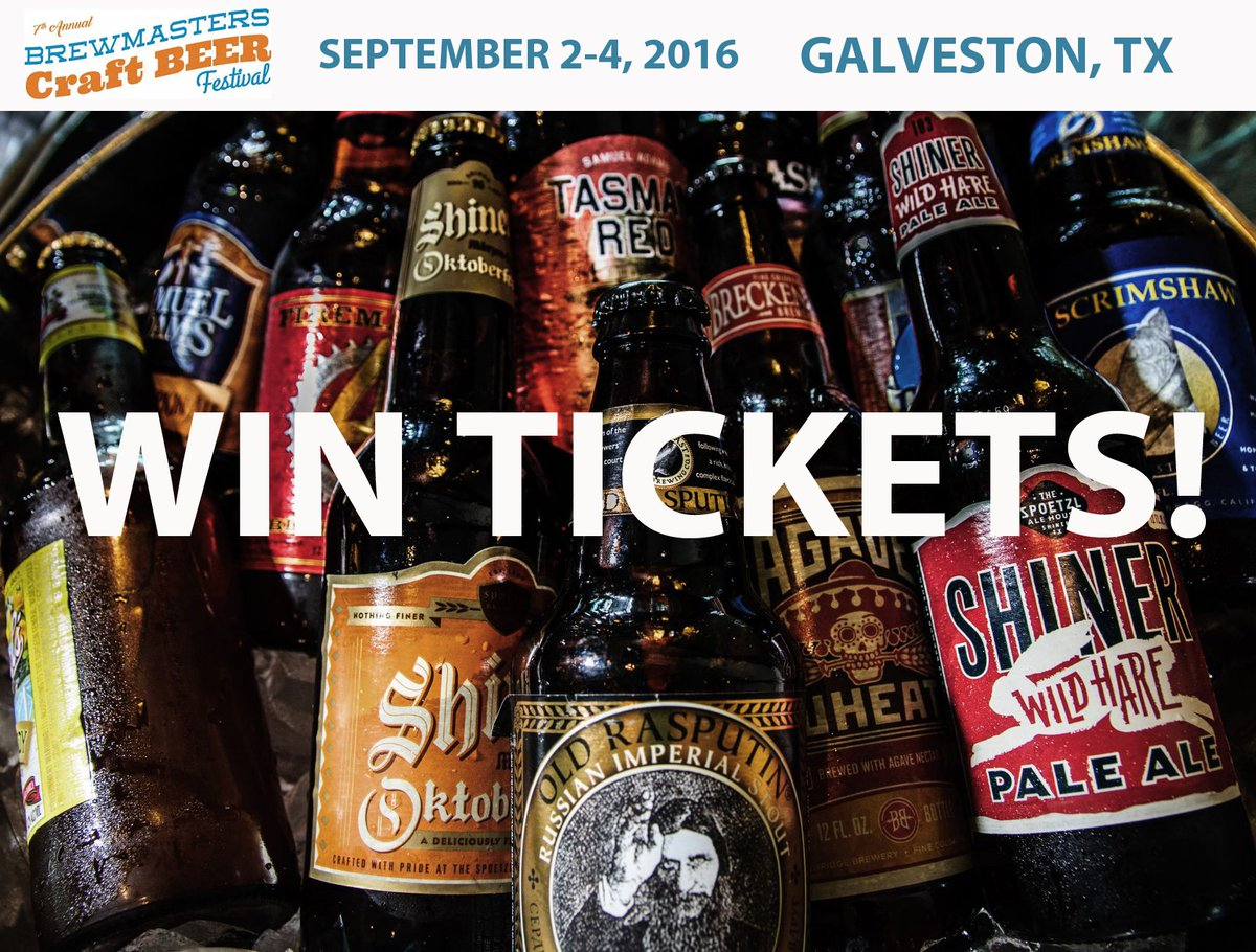 RETWEET to WIN 2 TICKETS to this weekend's BrewMasters Beer Fest! For more info: https://t.co/7eOCWzobxz https://t.co/8SgS6TlBi7