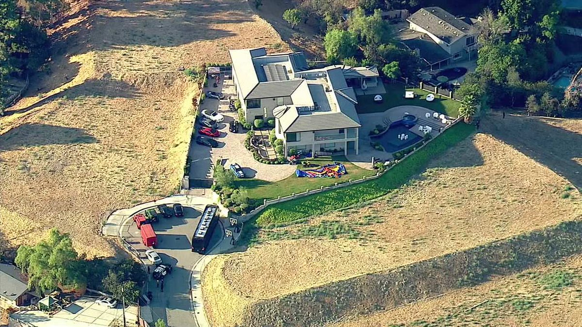 Woman calls 911 requesting help near Chris Brown's home, LAPD says