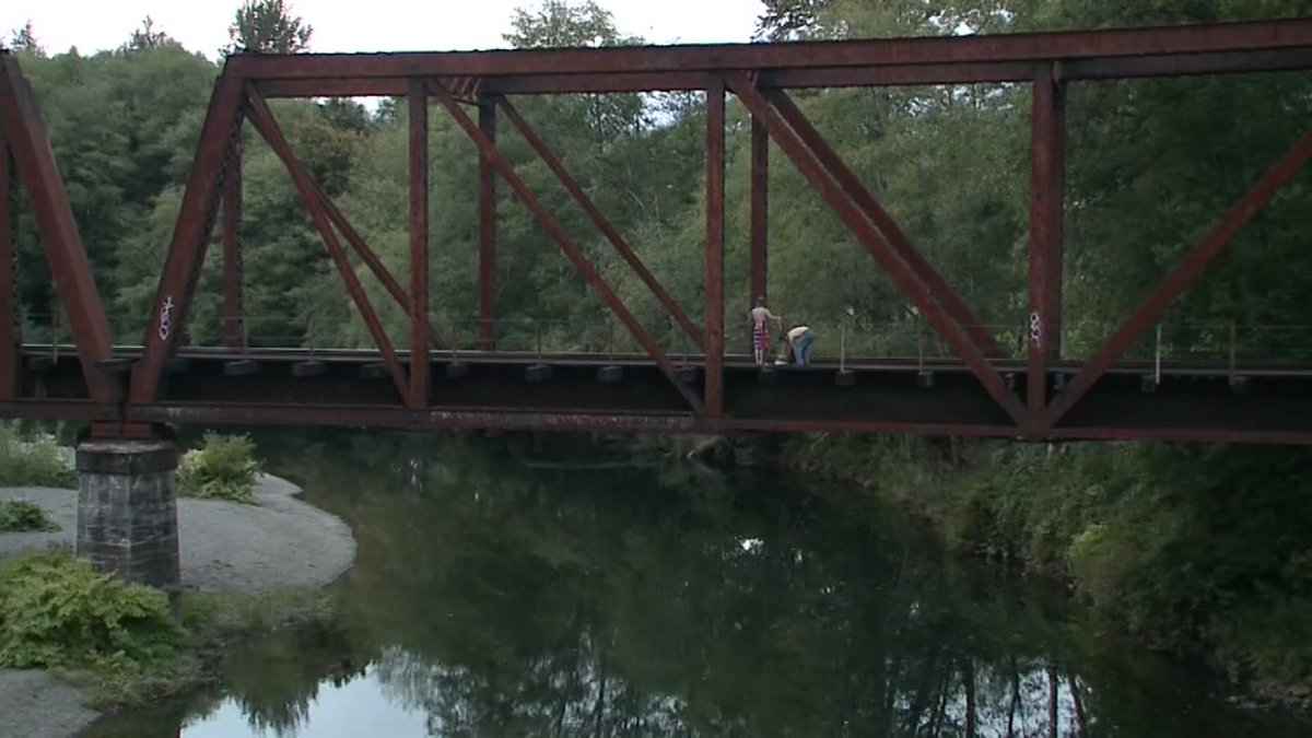 Man throws 4-year-old boy off bridge
