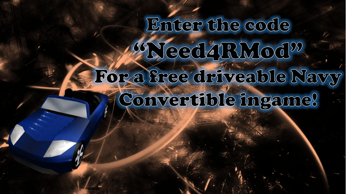 Robloxs Mod On Twitter New Code Is Need4rmod For An Awesome Naval