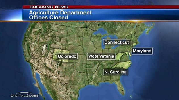 US Dept. of Agriculture closes offices in 5 states after threats