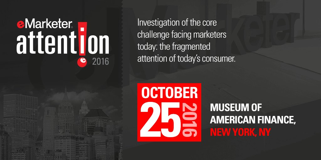There's only ONE day left to get early-bird pricing for #eMAttention this fall! Click here: https://t.co/nANq1LWfVq https://t.co/KKHrIC1S7J