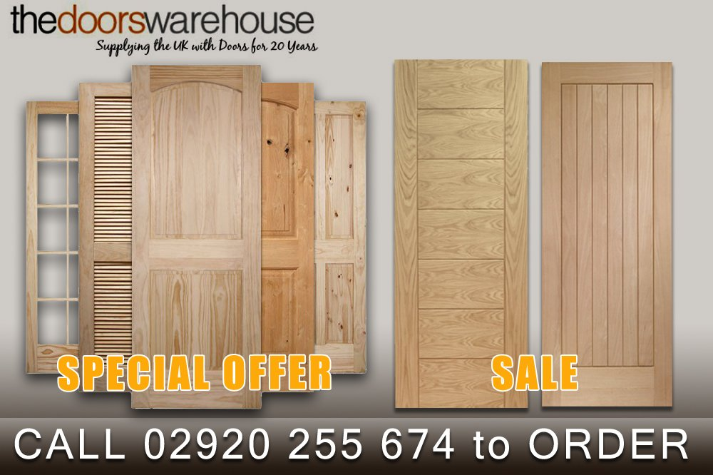 *SPECIAL OFFER* 5 OAK DOORS fitted with handles and hinges for ONLY £850!! Call now to ORDER! 02920 255 674 #salepic.twitter.com/R7O98lJDvx & The Doors Warehouse (@doorswarehouse) | Twitter