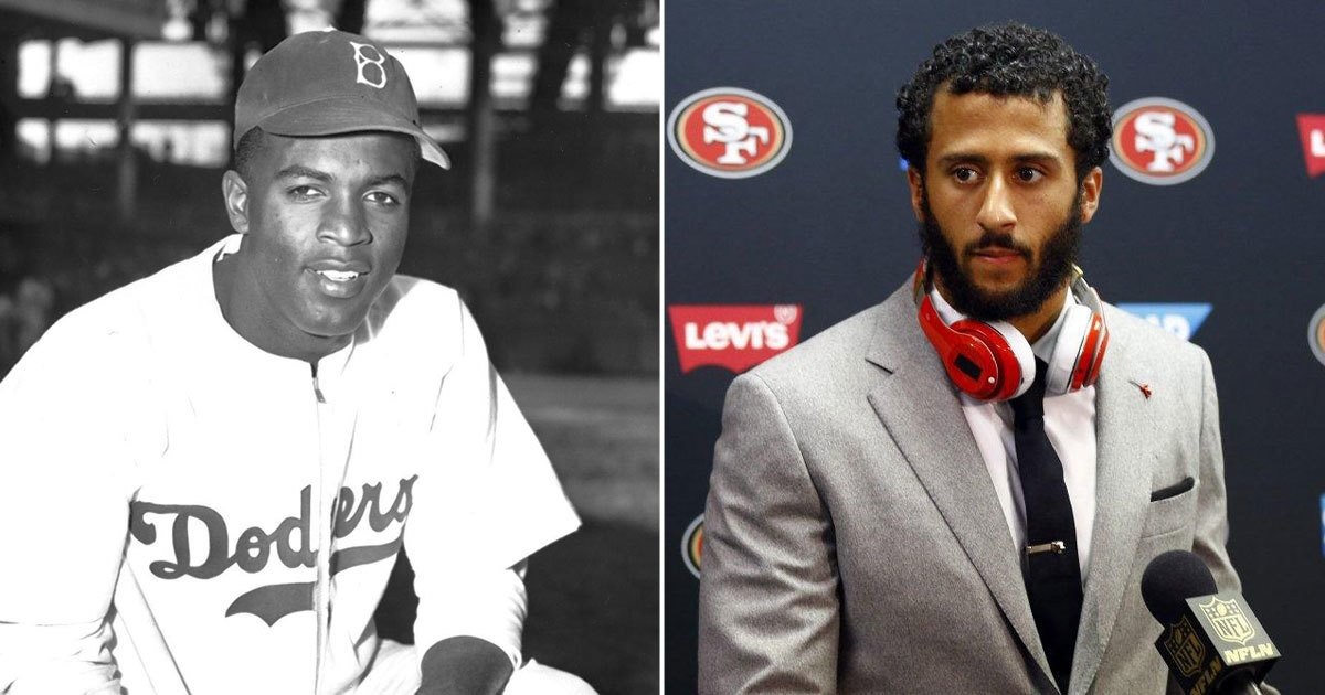 @ShaunKing: If you hate Colin Kaepernick, you must also hate Jackie Robinson