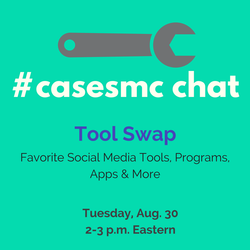 Today's chat starts in five minutes! Hope you can join us for the Great #casesmc Tool Swap with @writemegwrite. https://t.co/FsjpIblXw9