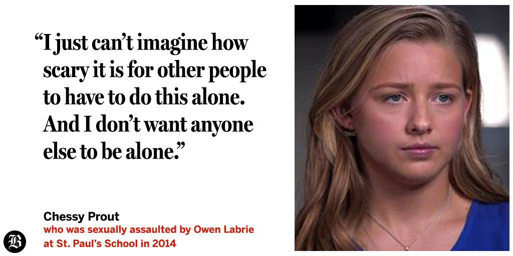 Teen who was sexually assaulted by Owen Labrie breaks her public silence