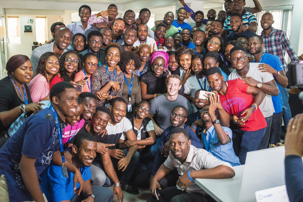 Mark Zuckerberg Came To Nigeria And Nigeria Was So Very Here For It