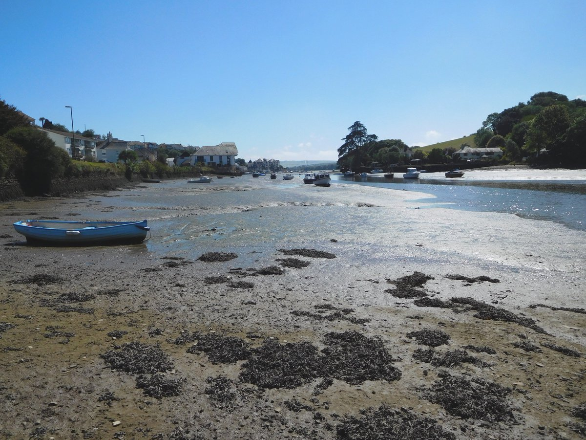 Lovely views down in sunny Kingsbridge today #devon @kingsbridgeinfo @THCottages @visitsouthdevon