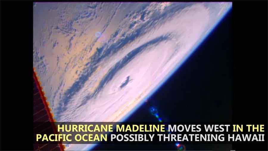 WATCH: International Space Station Flies Over 3 Hurricanes