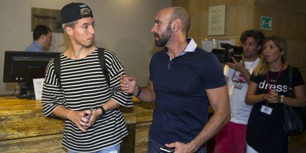 Parece que Monchi ha ido a recoger a su hijo adolescente que viene de Ibiza, pero no: es Nasri, que llega al Sevilla https://t.co/8nDMFt0K6j
