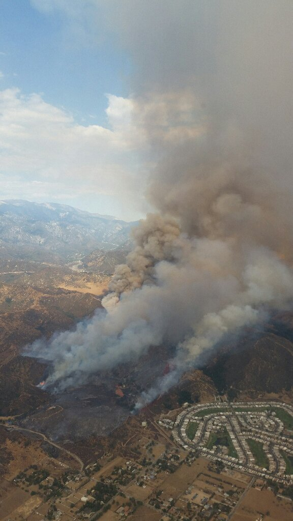 #BogartFire from CAL FIRE Air Attack 310. Credit: CAL FIRE https://t.co/UgF2z3Tskk