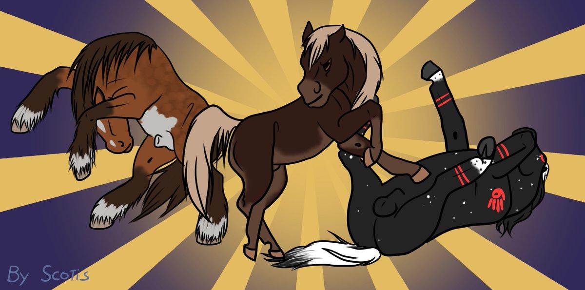Les poneys de Scotis CrItJlbWEAA4leC