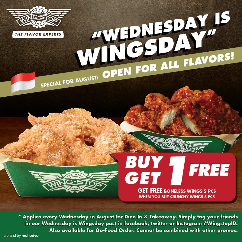 When you want wings, choose a real winner: Wingstop. Three time consecutive winner of the Buffalo Wing Festival, Wingstop offers flavors of wings to customers at more than stores across America.