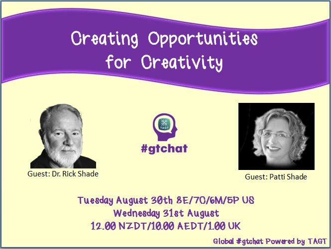 Thumbnail for #gtchat: Creating Opportunities for Creativity