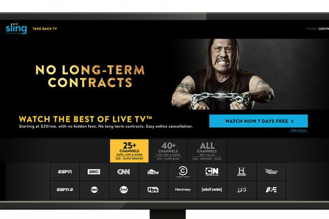 .@Sling TV looks to woo pay-TV subscribers in new campaign. https://t.co/n9PGgwIQMV https://t.co/x7v6w90l10