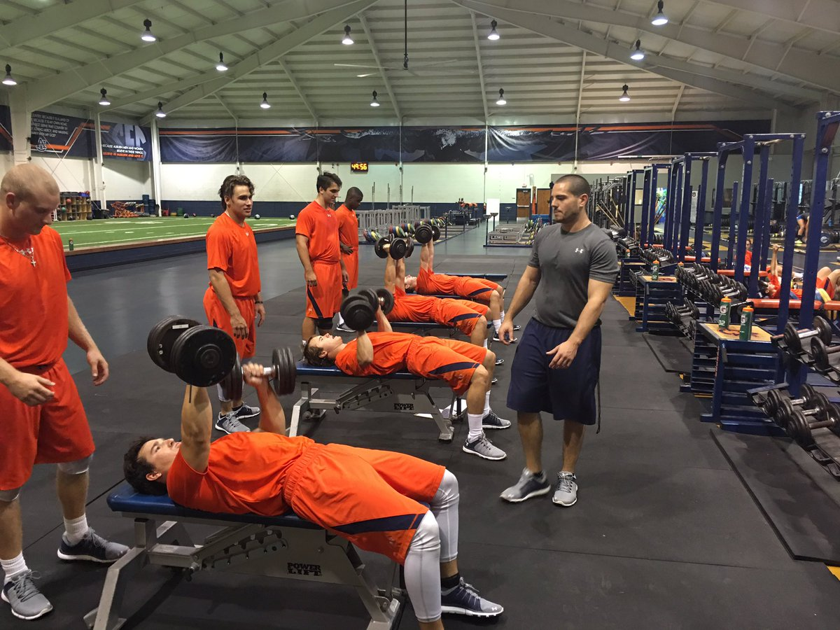 Auburn Baseball On Twitter The Hitters Attacked Weight Room Tuesday WarEagle Attack Tco R1irTGSX78