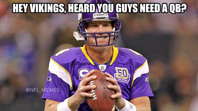 Brett Favre Funny Quotes: Good Luck Vikings *update*: Lavender Room: Slowtwitch Forums