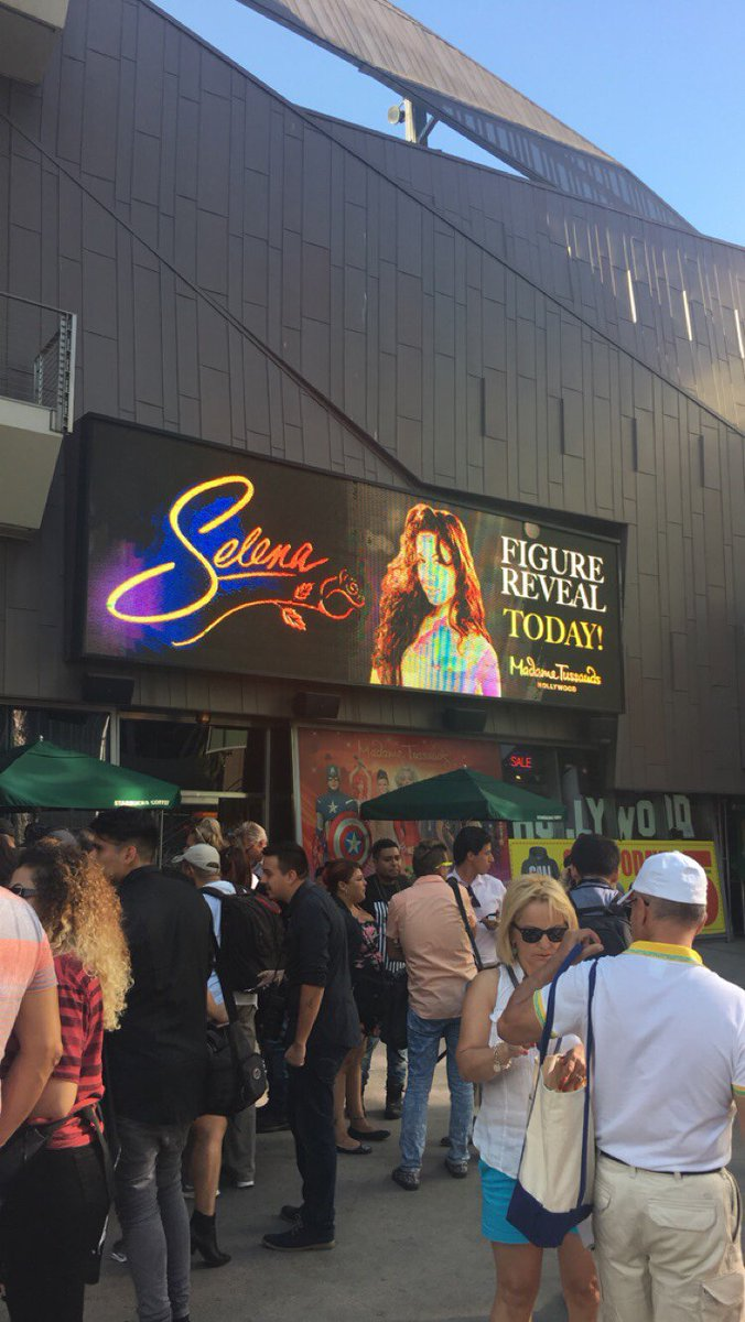 Selena wax figure to be unveiled at Madame Tussauds Hollywood