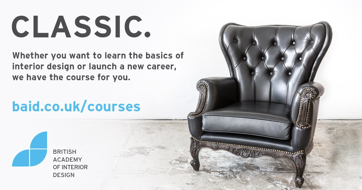 Baid Co Uk On Twitter Enrol In One Of Our Interiordesign Courses Starting September 2016 Https T Co Lz7y9nfcwa