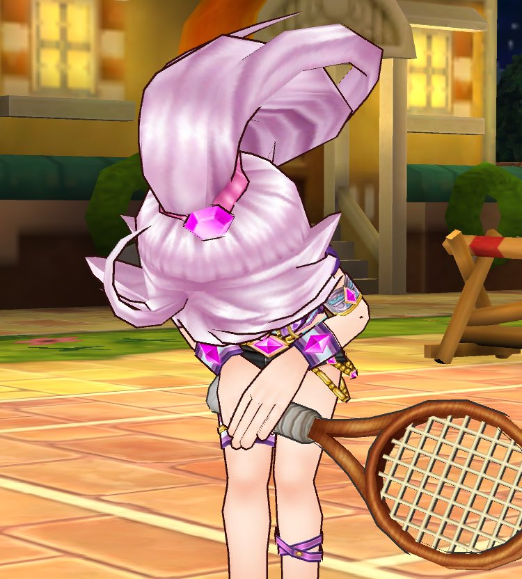 【白猫】白猫テニスにメアとカモメが登場、可愛いスクショ画像まとめ!カモメちゃんのパンチラも!【プロジェクト】